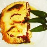 Печени чушки на фурна с яйца и сирене
