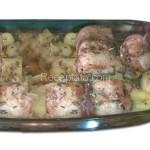 Филе от хек с картофи