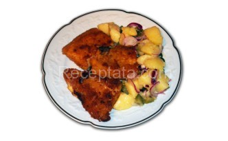 Панирано филе от пангасиус