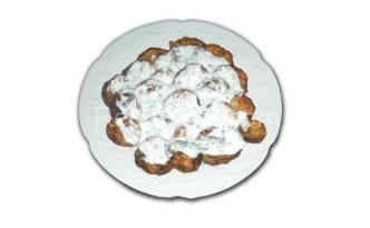 Пържени тиквички със сос от кисело мляко