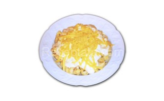 Тортелини със сос от сирена
